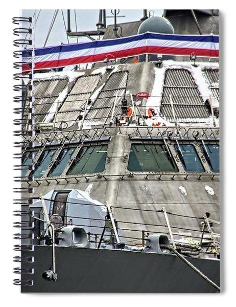 Uss Little Rock Lcs 9 Spiral Notebook
