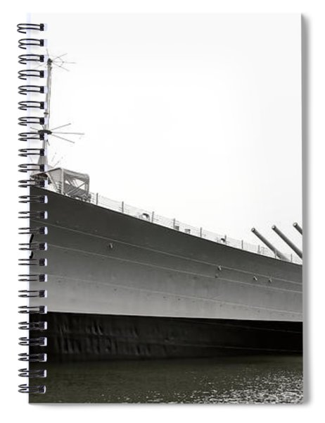 Uss Wisconsin - Port-side Spiral Notebook