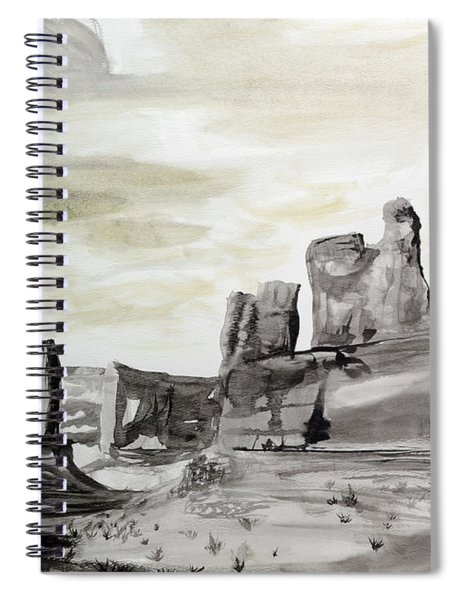 Utah Spiral Notebook