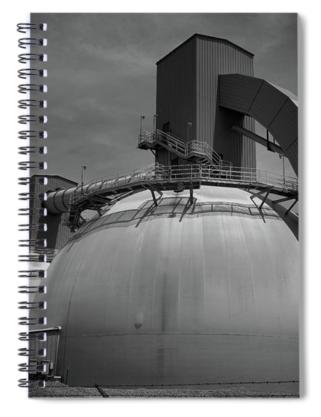 Utility Buildings Spiral Notebook