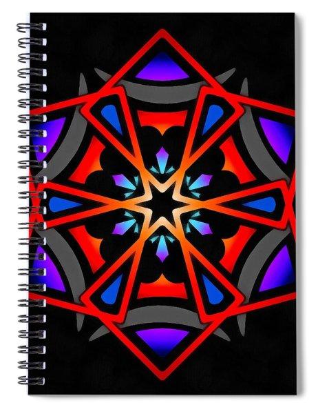 Utron Star Spiral Notebook by Derek Gedney