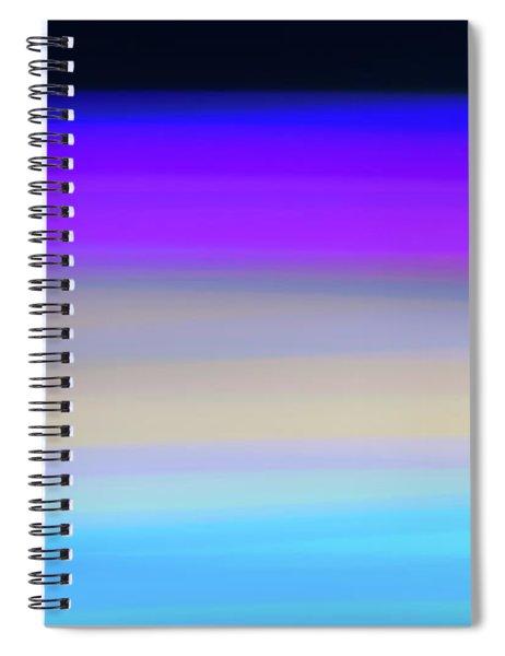 Uv Dawn Spiral Notebook