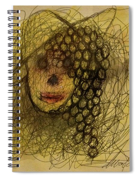 Uva Queen Of The Grapes Spiral Notebook