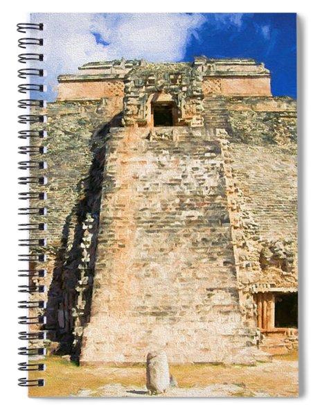 Uxmal Mayan Ruins Spiral Notebook