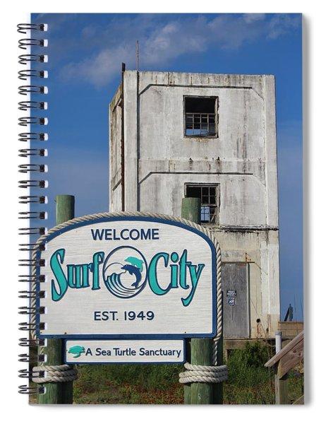 Vacation Destination  Spiral Notebook