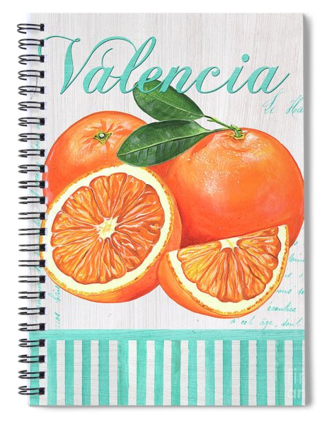 Valencia 1 Spiral Notebook