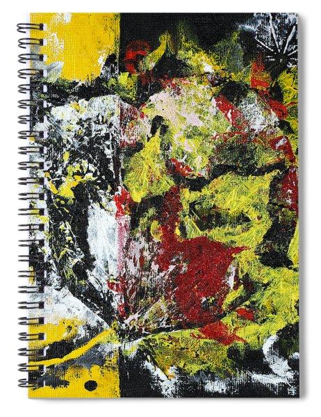 Valentine Leaves Spiral Notebook