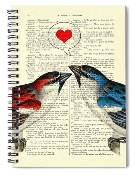 Valentine's Day Spiral Notebook