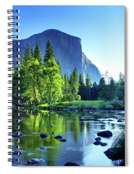 Valley View Morning Spiral Notebook
