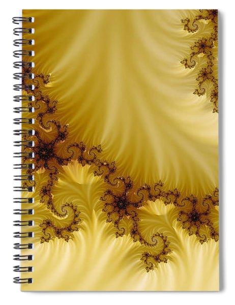 Valleys Spiral Notebook