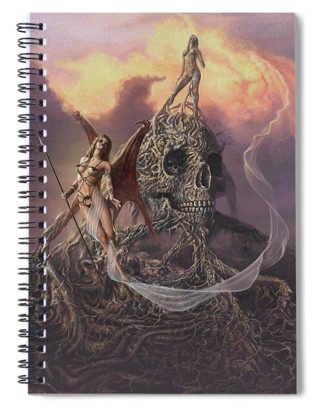 Vampis Lair Spiral Notebook