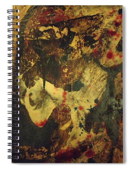 Van Gogh's Ear Spiral Notebook