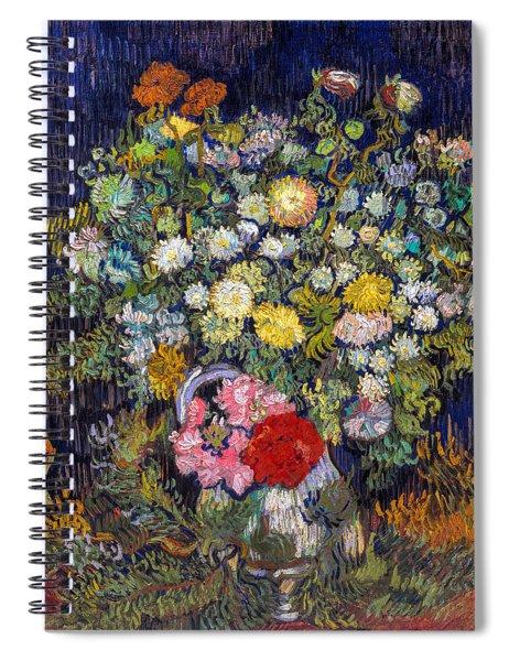 van Gogh's Vase          Spiral Notebook