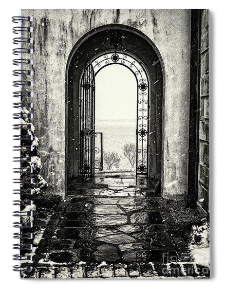 Vanderbilt Doorway In Centerport Spiral Notebook