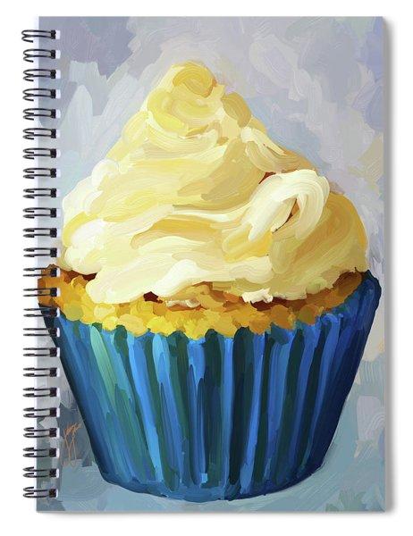Vanilla Cupcake Spiral Notebook