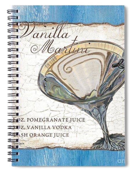 Vanilla Martini Spiral Notebook