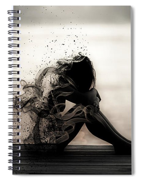 Vapours Of Sadness Spiral Notebook