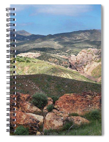 Vasquez Rocks Park Spiral Notebook