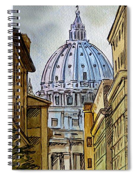 Vatican City Spiral Notebook