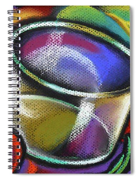 Vegetarian Food Spiral Notebook