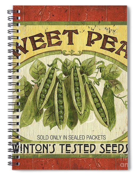 Veggie Seed Pack 1 Spiral Notebook