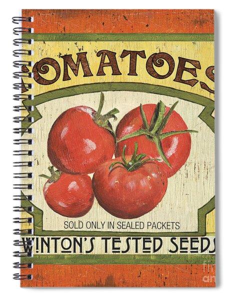 Veggie Seed Pack 3 Spiral Notebook