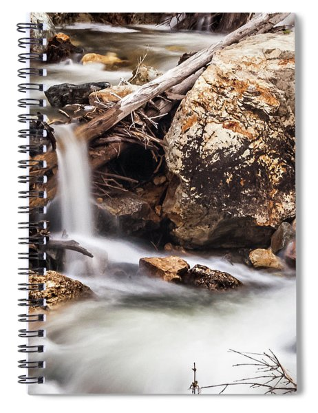 Velvet Falls - Rocky Mountain Stream Spiral Notebook