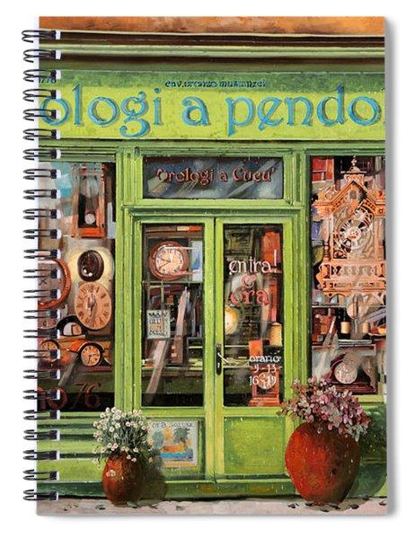 Vendita Di Orologi A Dondolo Spiral Notebook