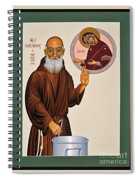 Venerable Fr. Solanus Casey The Healer 038 Spiral Notebook