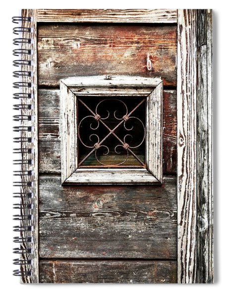 Venetian Window Spiral Notebook