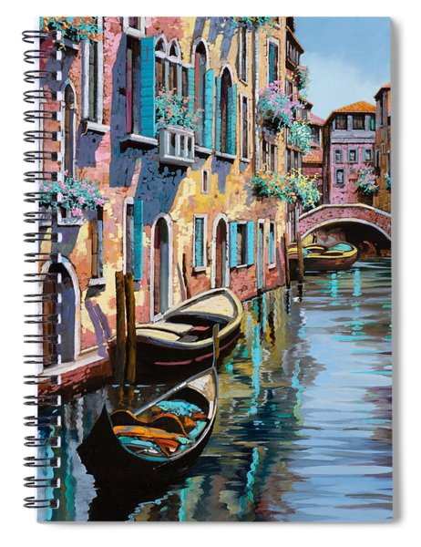 Venezia In Rosa Spiral Notebook