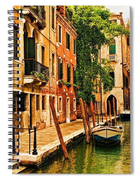 Venice Alley Spiral Notebook