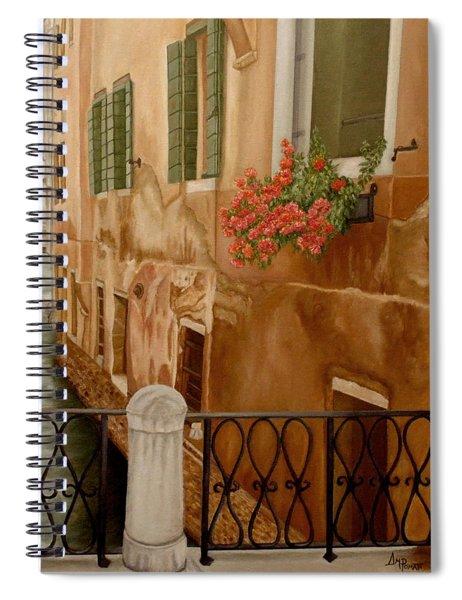 Venice In June Spiral Notebook
