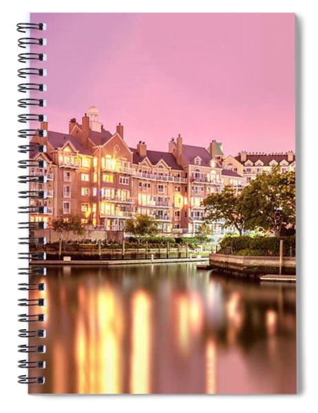 Venice Of Jersey City Spiral Notebook