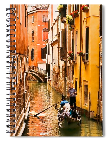 Venice Passage Spiral Notebook