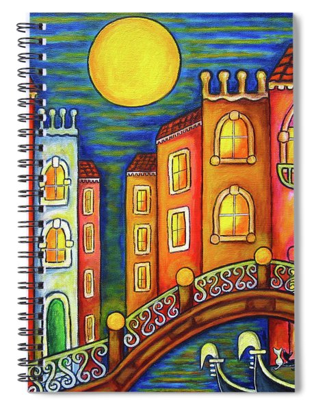 Venice Soiree Spiral Notebook