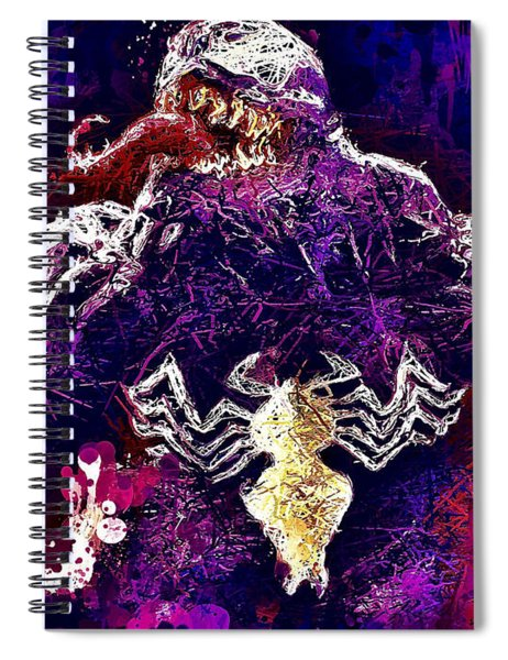 Venom Spiral Notebook