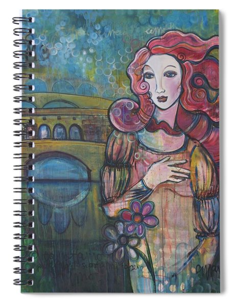 Venus And The Ponte Vecchio  Spiral Notebook