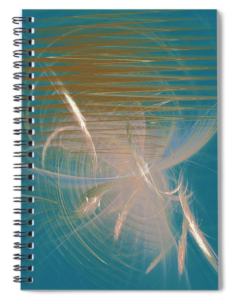 Venus Born Out Of The Sea Spiral Notebook