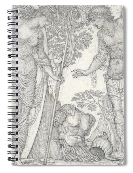 Venus Bringing Armor To Aeneas Spiral Notebook