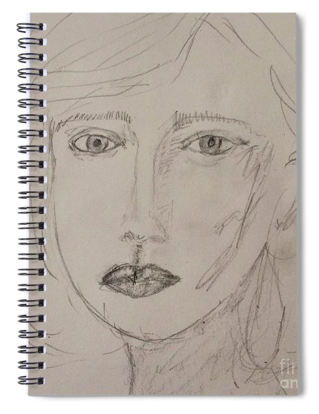 Vera In Pencil Spiral Notebook