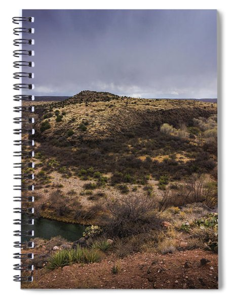 Verde River Horseshoe Spiral Notebook