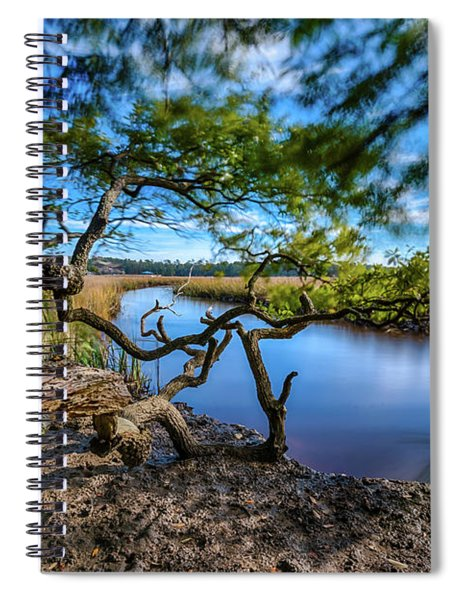 Vereen Memorial Gardens Little River, South Carolina Spiral Notebook