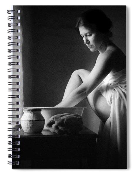Vermeer Footwasher Spiral Notebook