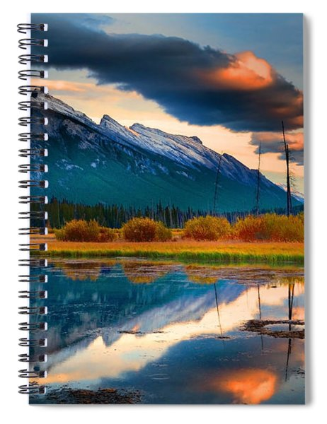 Vermillion Beauty Spiral Notebook