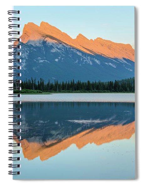 Vermillion Lakes Spiral Notebook