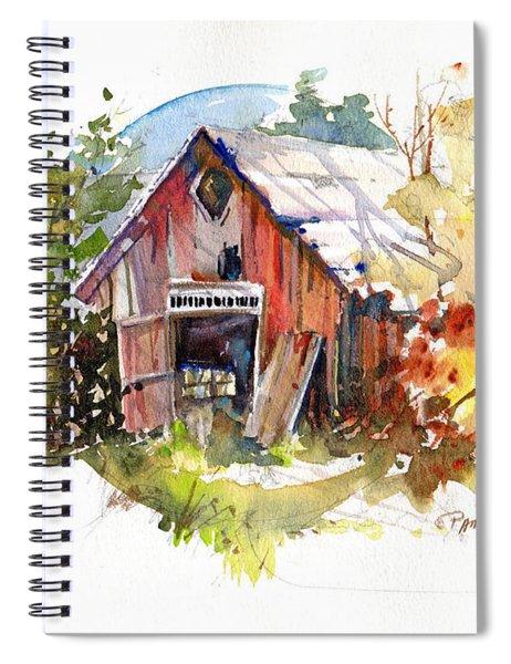Vermont Barn Spiral Notebook