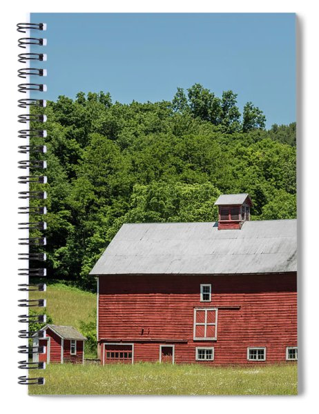 Vermont Barn Spiral Notebook