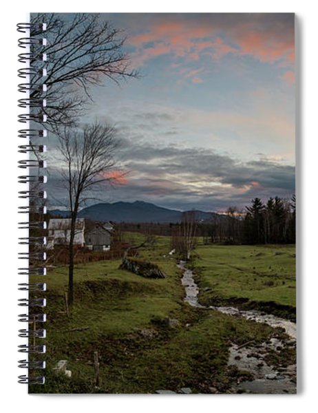 Vermont Sunset Spiral Notebook