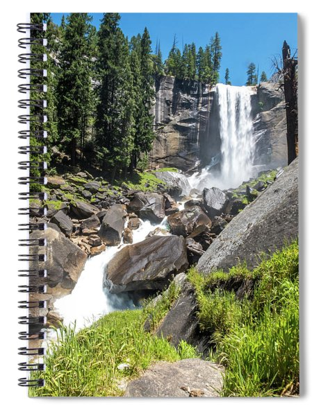 Vernal Falls- Spiral Notebook